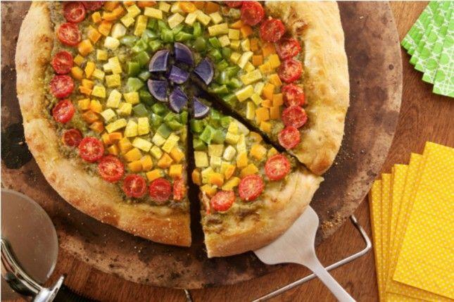 63-Rainbow-Recipes-Flatbread-Pizza