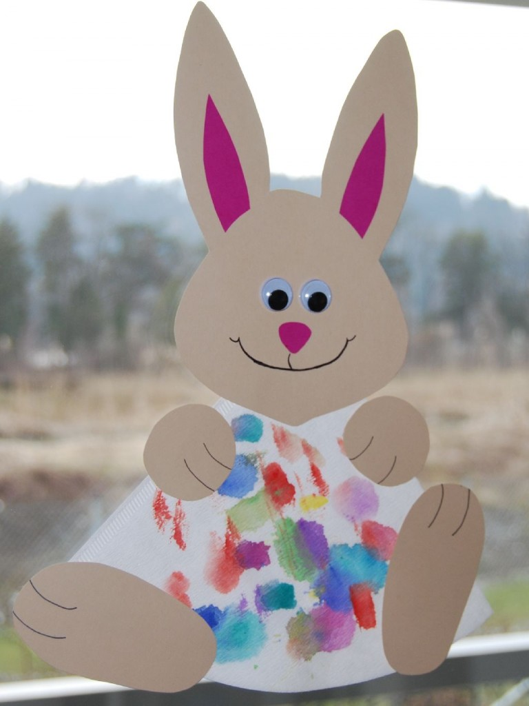 10-Easy-Easter-Crafts-paper-bunny