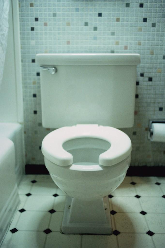 Motel Room Toilet