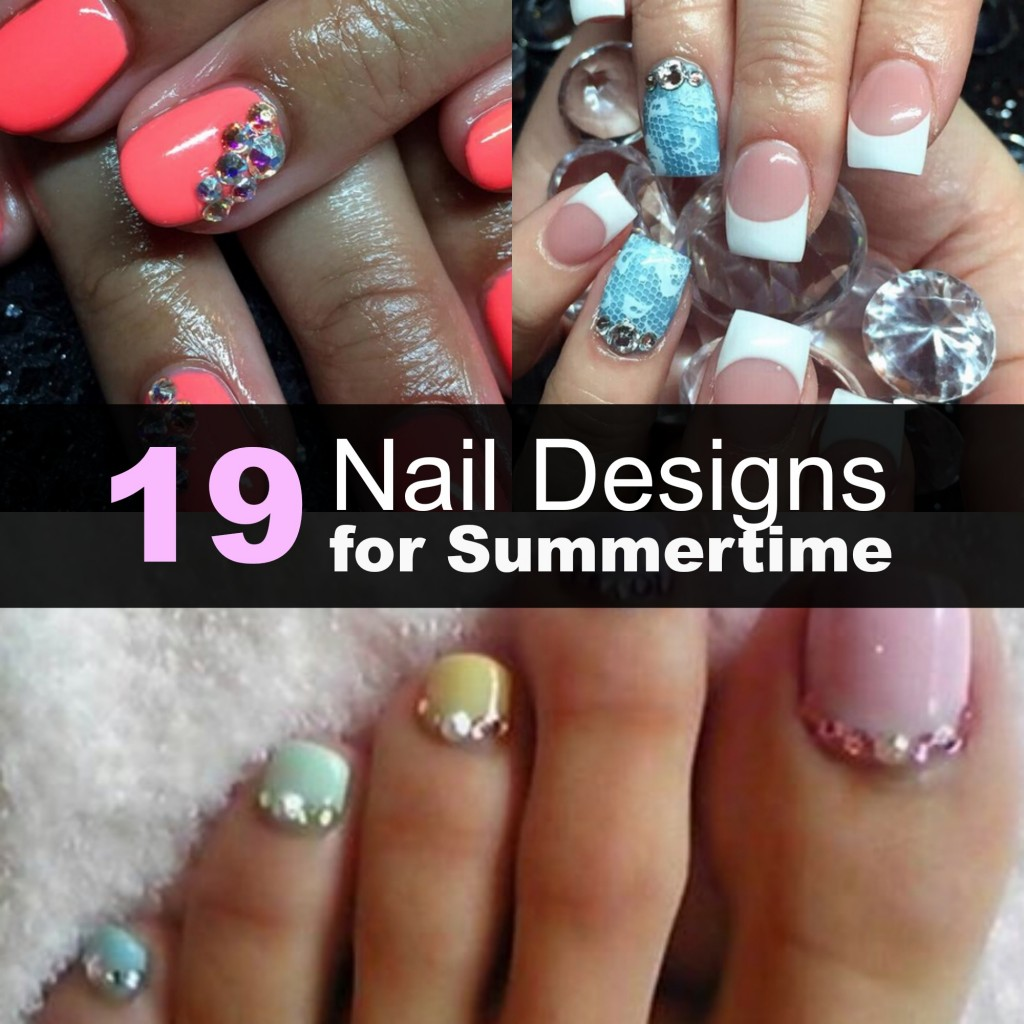 19 nail designs for summer
