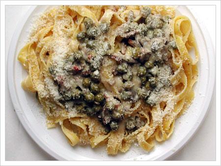 10-Easy-Pasta--fettuccine--boscaiola