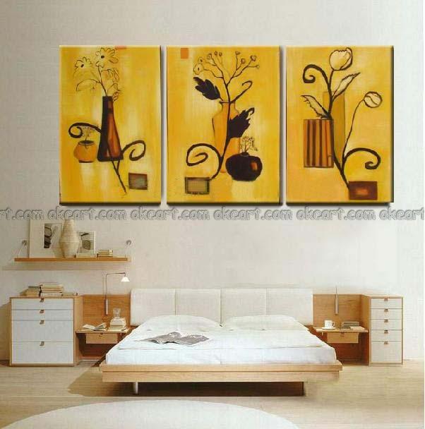 10-Frugal-Ways-bedroom--oil-paintings