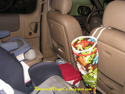 10-Ways-to-Organize-Car-trash-container