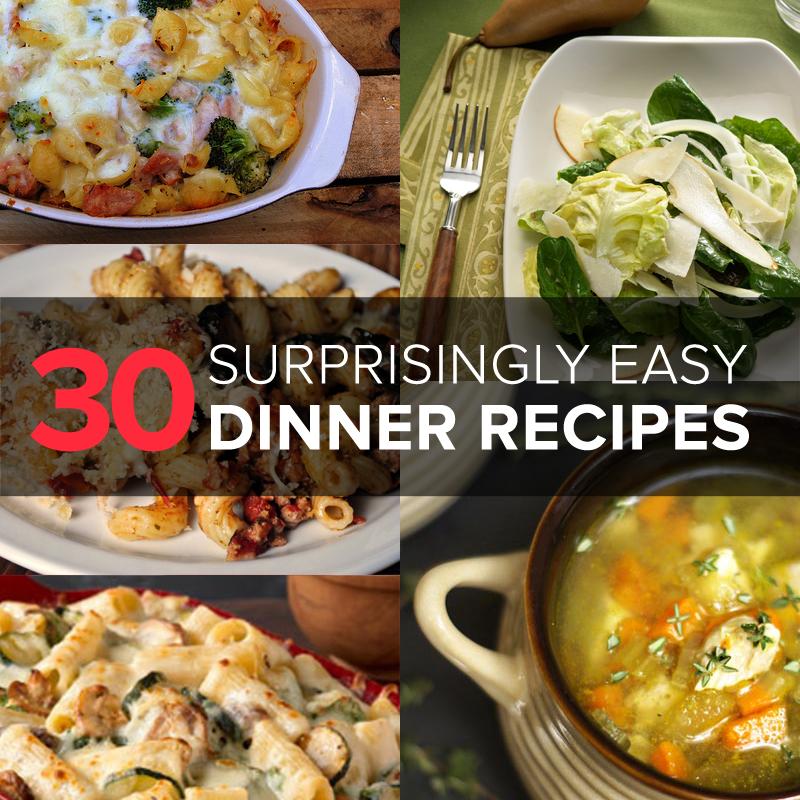 easy-dinner-recipe-ideas