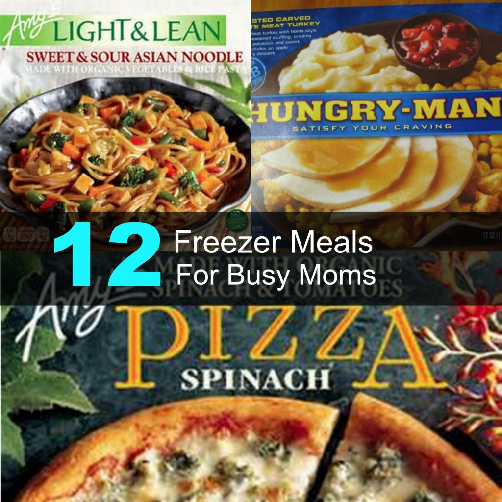 12 Freezer Meals for Busy Moms