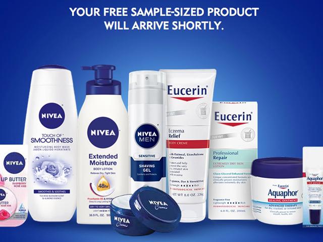 nivea-eucerin-aquaphor-sample-