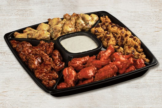 Traditional Wing Me Platter