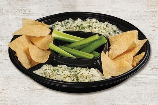 Spinach & Artichoke Dip Platter