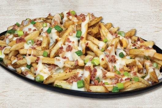 Mega Loaded Queso Fries