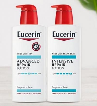 Dr. Oz: Free Eucerin Repair Lotion (2/2 at 12pm ET)