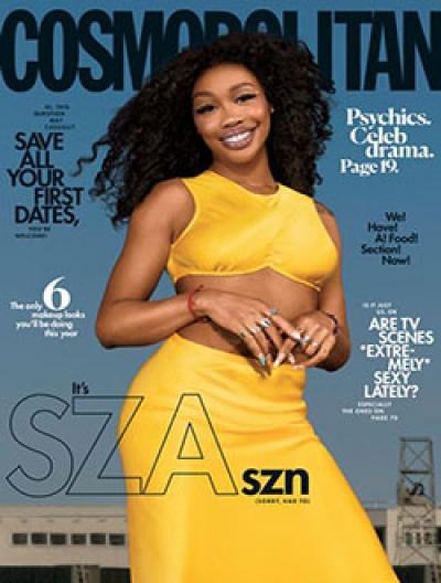 Free 2-year Subscription to Cosmopolitan Magazine