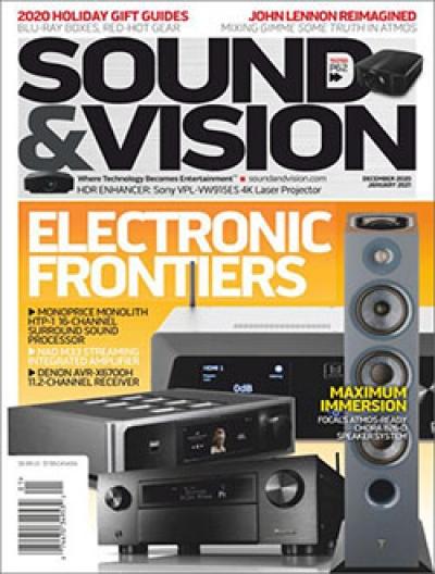 Free Sound & Vision Magazine Subscription