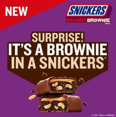 Free Snickers Peanut Brownie Sample