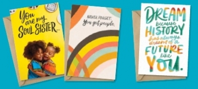 Free 3-Pack of Hallmark Mahogany Cards