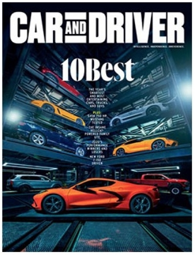 Free 2-year Subscription to Car and Driver Magazine