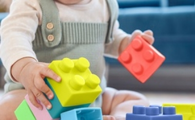 Free Infantino Super Soft 1st Building Blocks (Apply)
