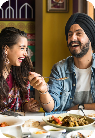 Enjoy a meal with your loved one and pay with Fave