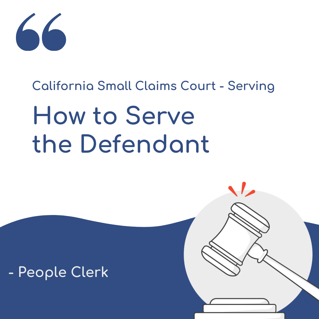 What happens if the person I sued does not show up to the small claims hearing?
