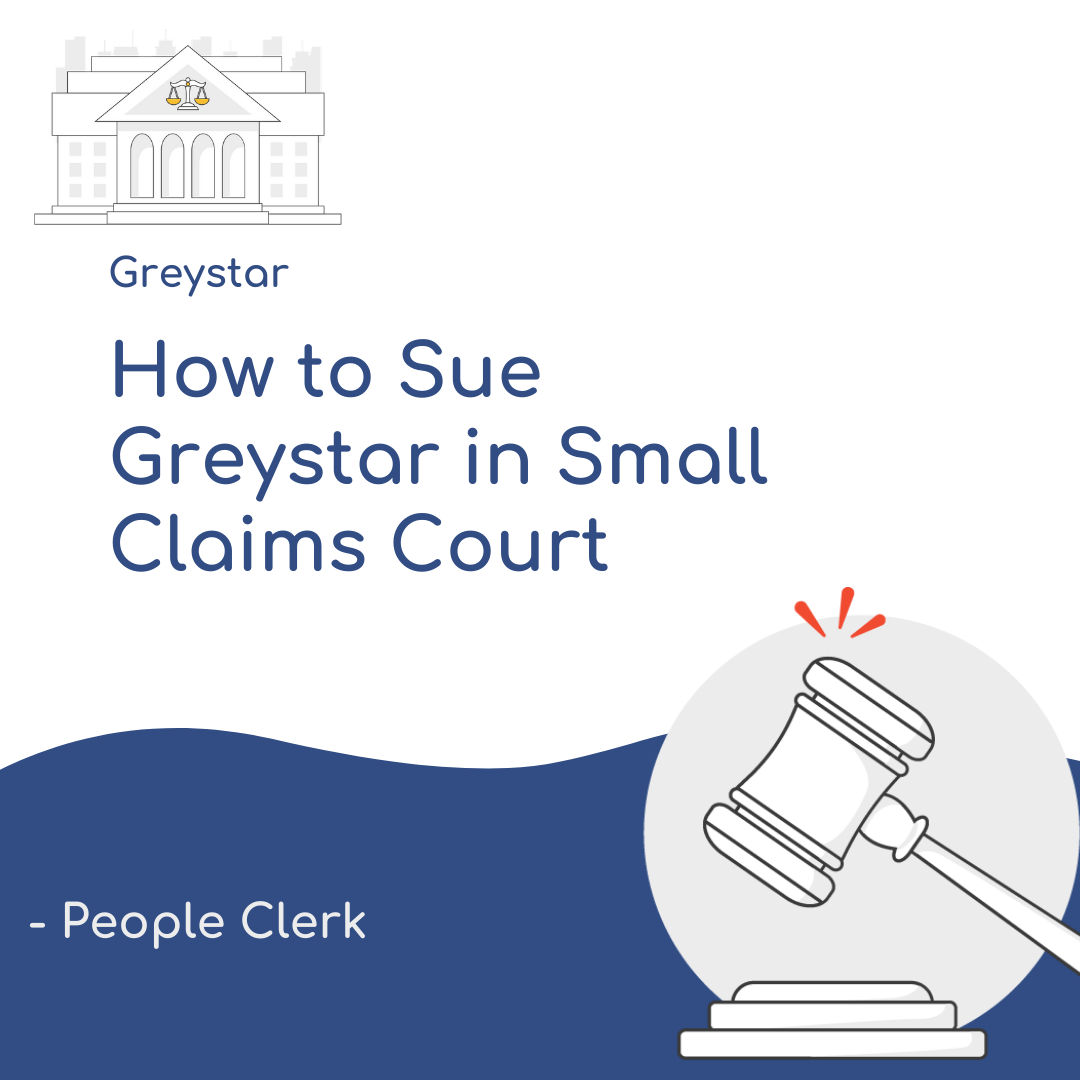 How to Sue Greystar in Small Claims Court