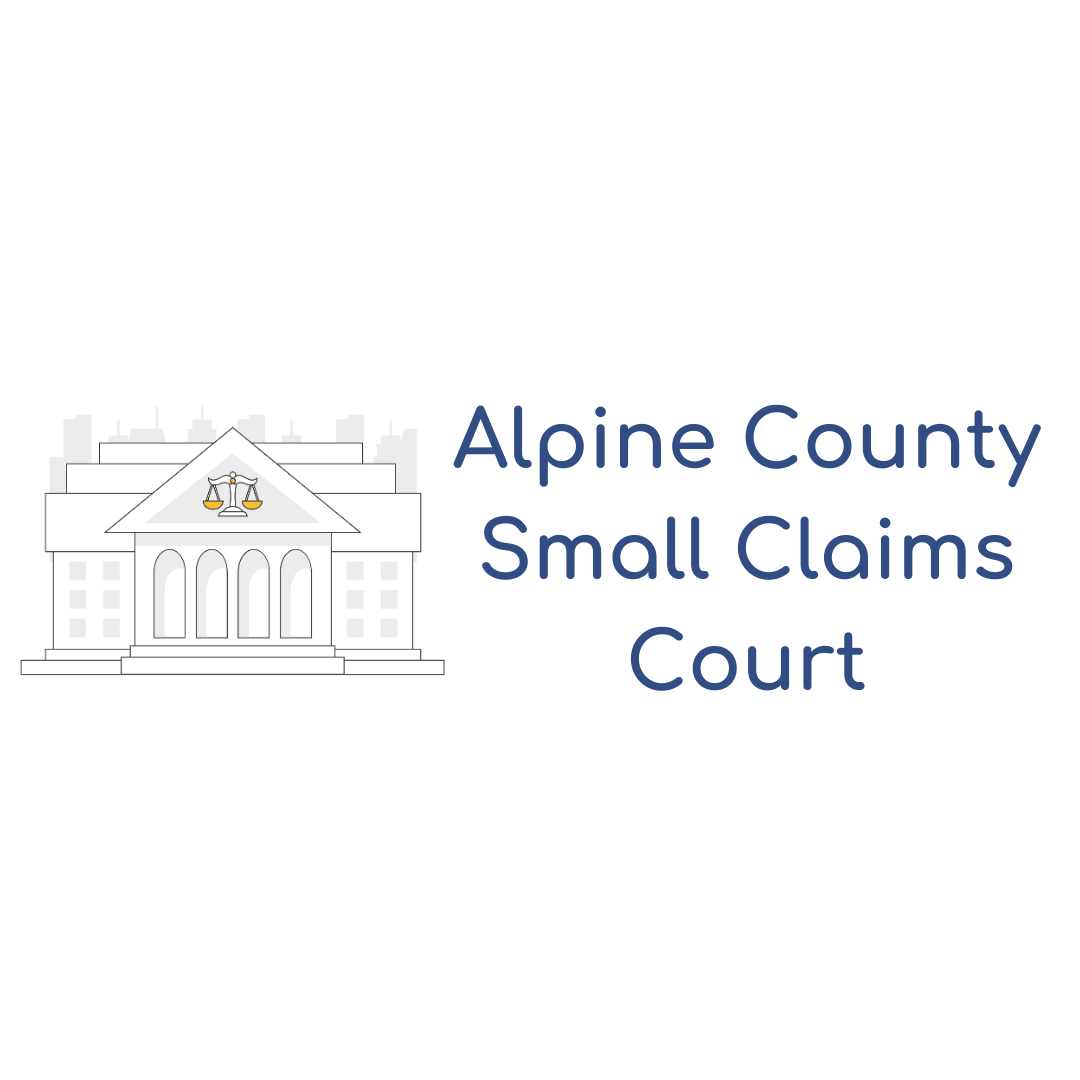 Alpine County Small Claims