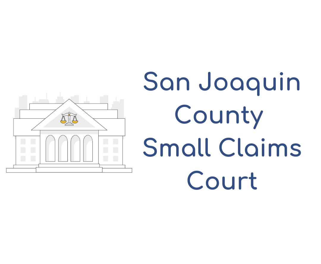 San Joaquin County Small Claims