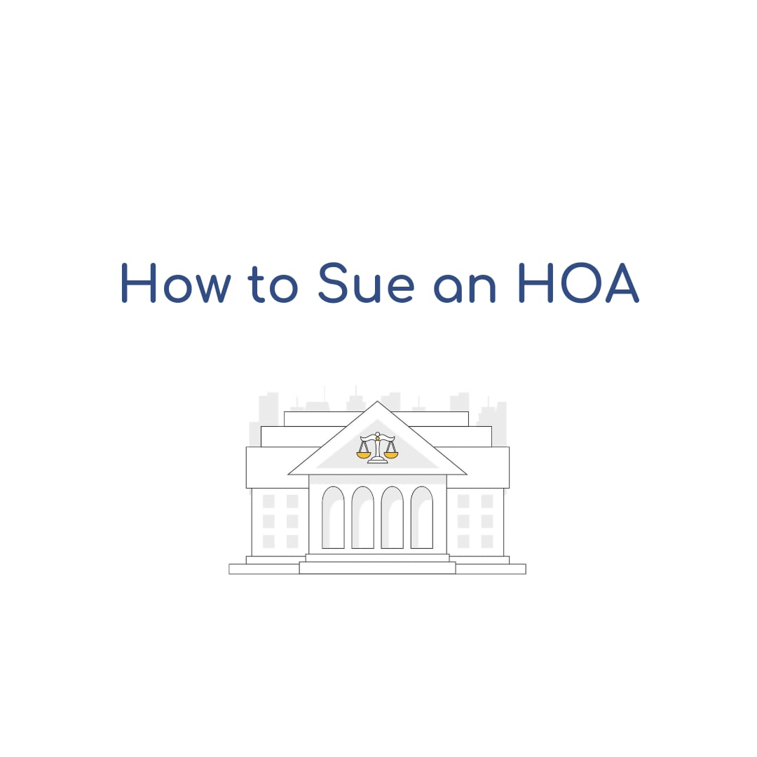 How to Sue an HOA