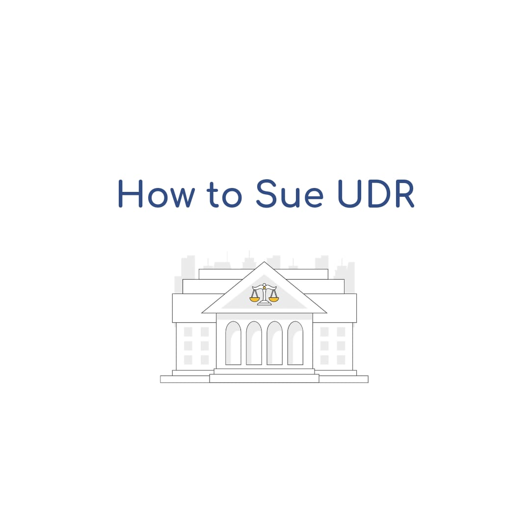 How to Sue UDR