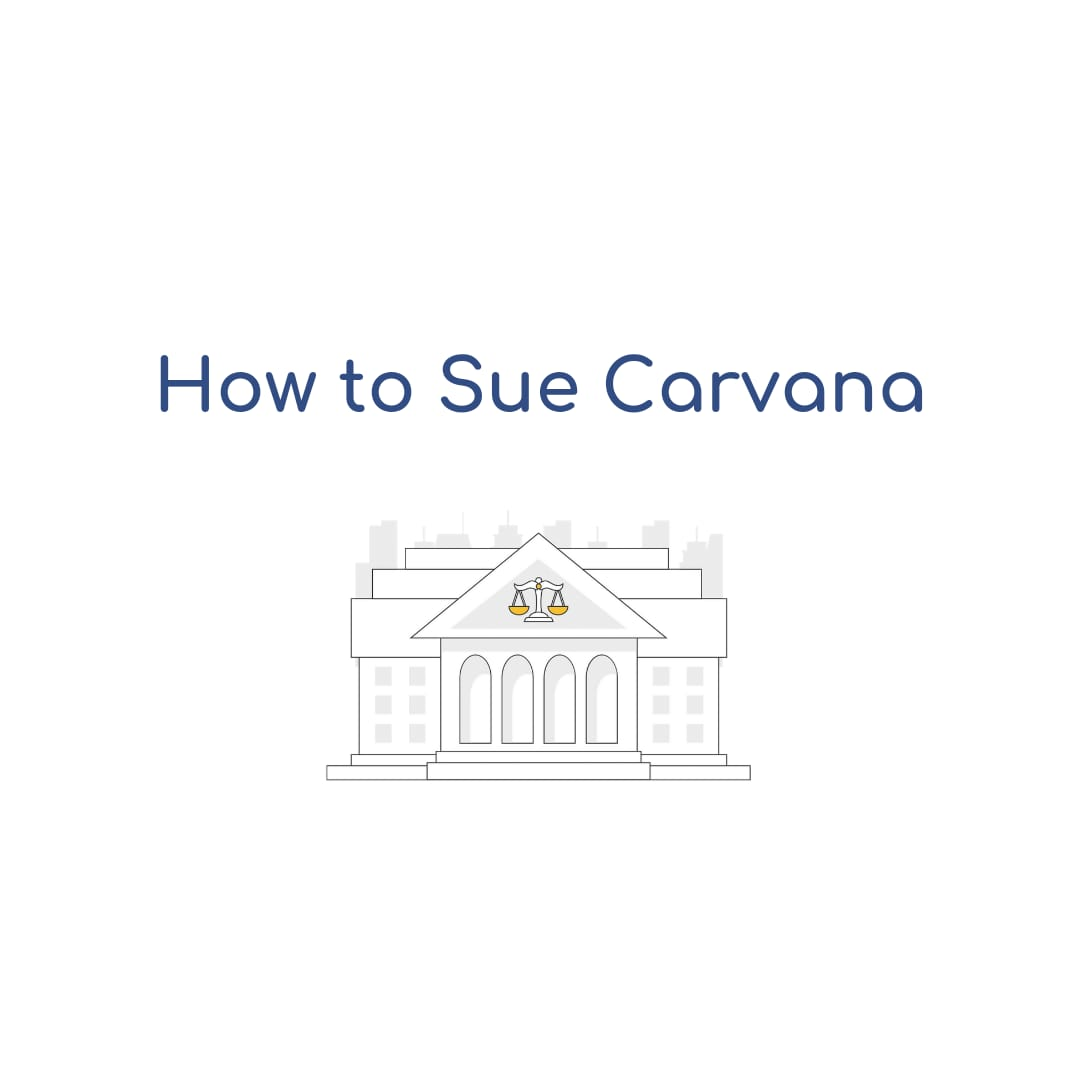 How to Sue Carvana