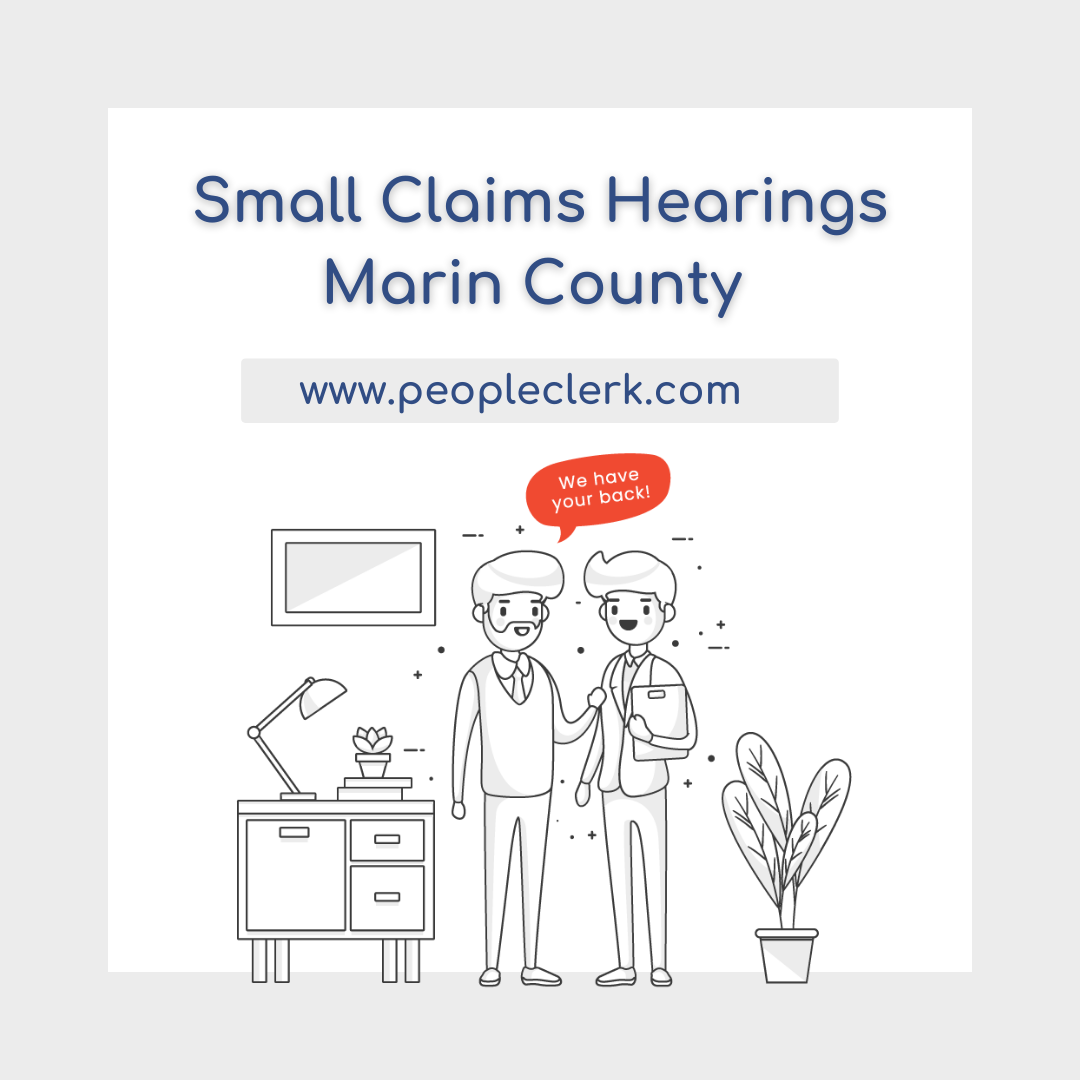 The Small Claims Hearing - Marin County