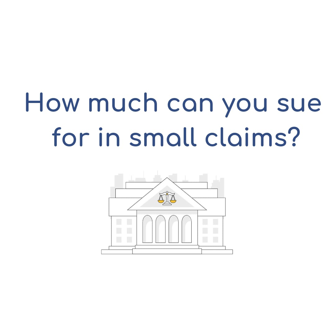 How much can you sue for in Small Claims (California)