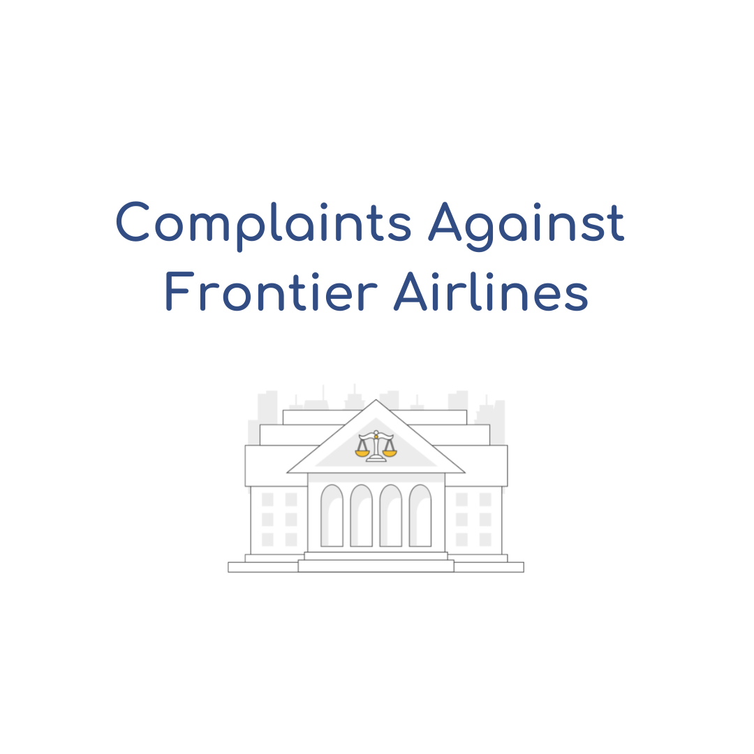 How to file a complaint against Frontier Airlines