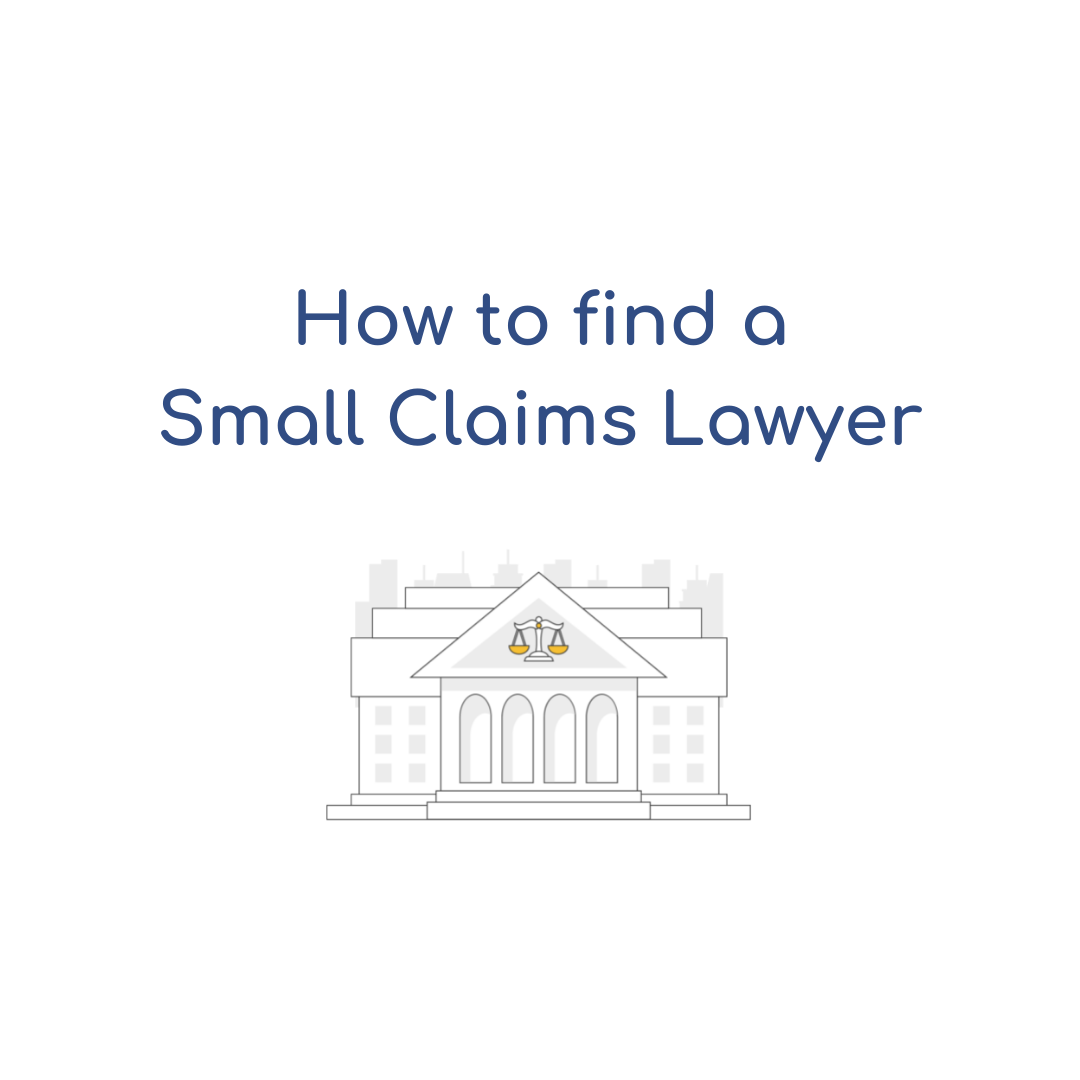 How to Find a California Small Claims Lawyer