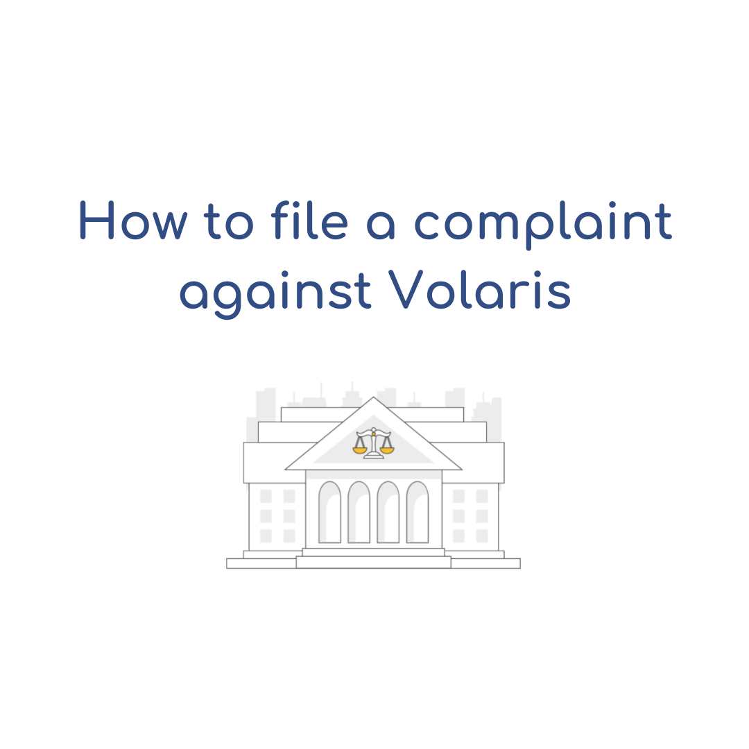 How to file a complaint against Volaris Airlines