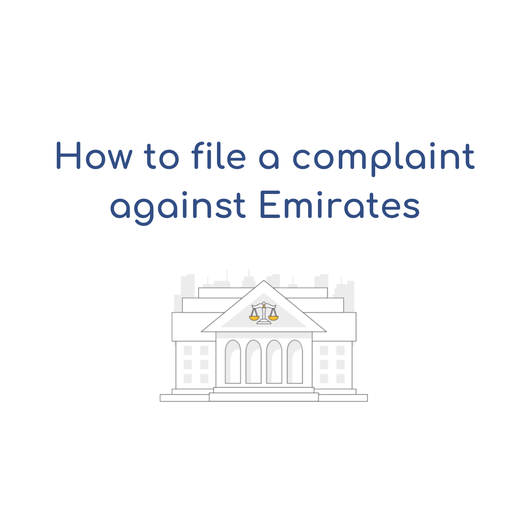 How to file a complaint against Emirates