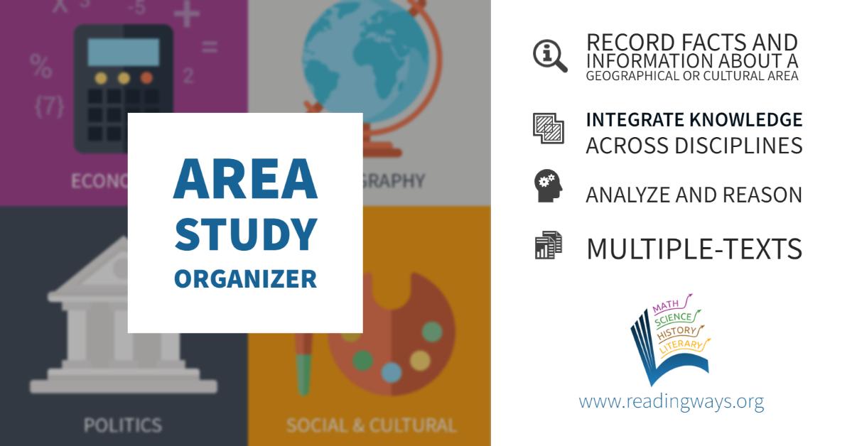 Area Study Organizer