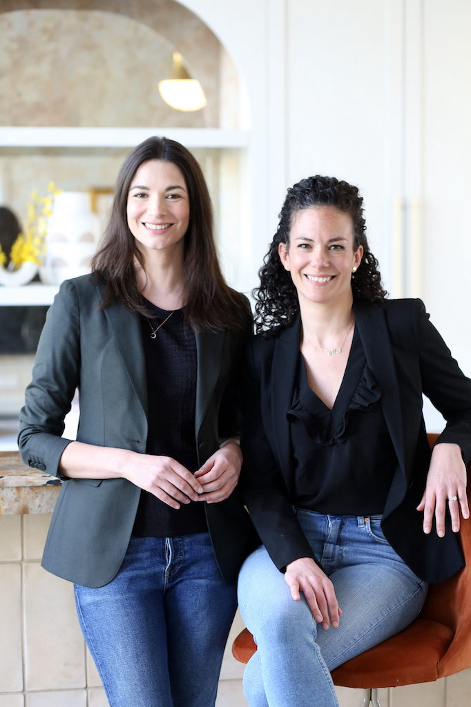 Photo of co-founders April Panitz and Christine Randazzo Kirschner