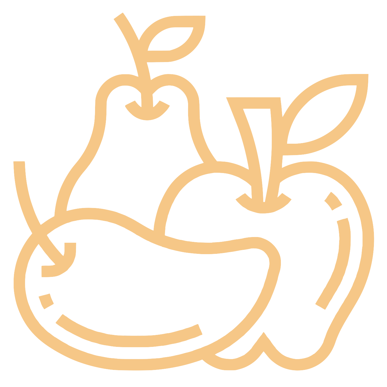 Weight Loss, Gain, & Maintenance fruit icon