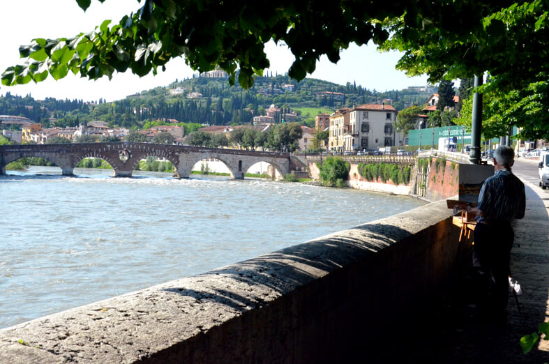 Vista dell'Adige, Verona