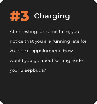 A graphic describing the third scenario (charging).
