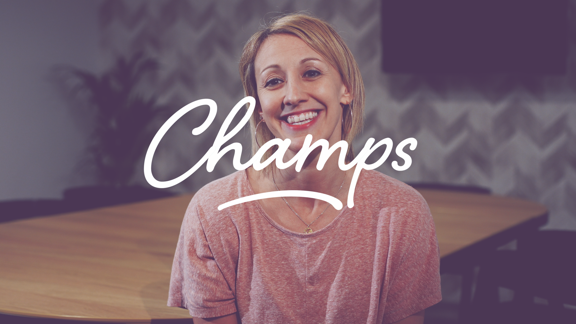 Champs Logo and Ruth-Cooper Dickson
