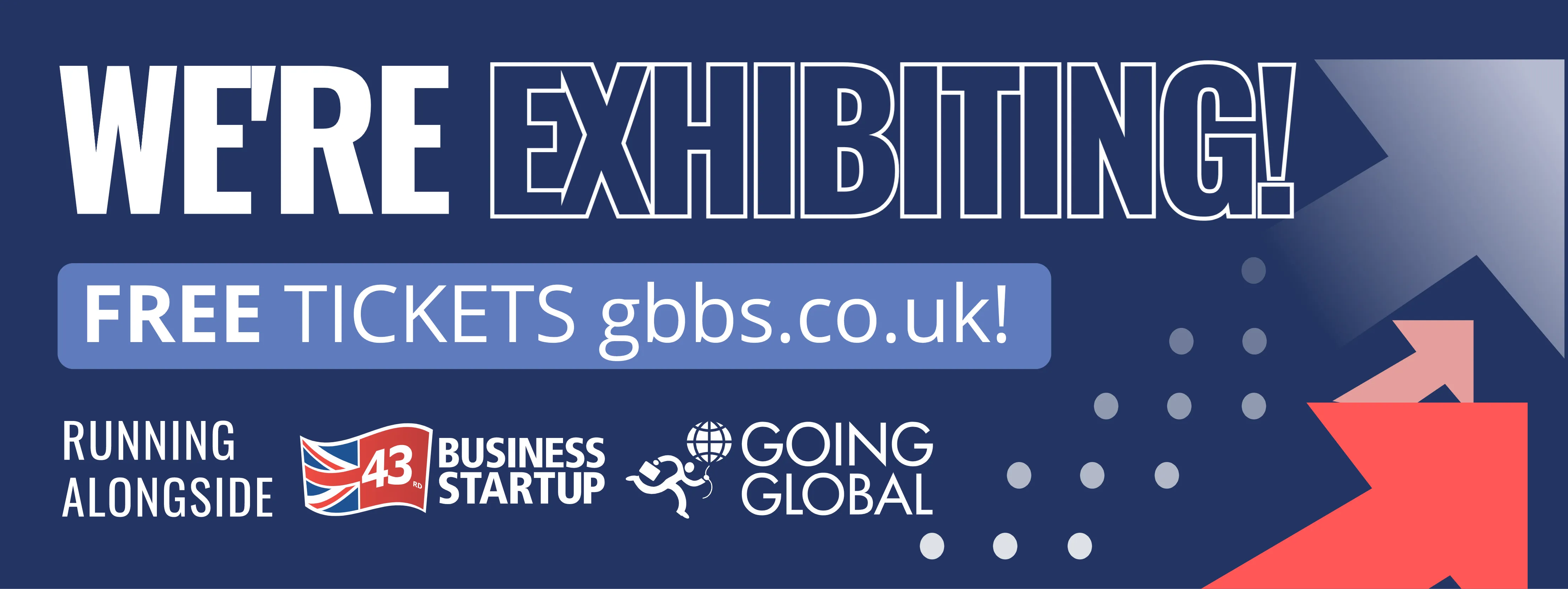 We're exhibiting at The Business Show 2021