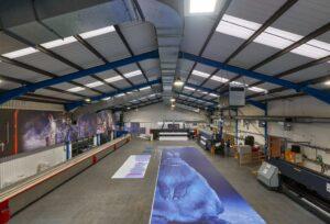 Macroart production facility
