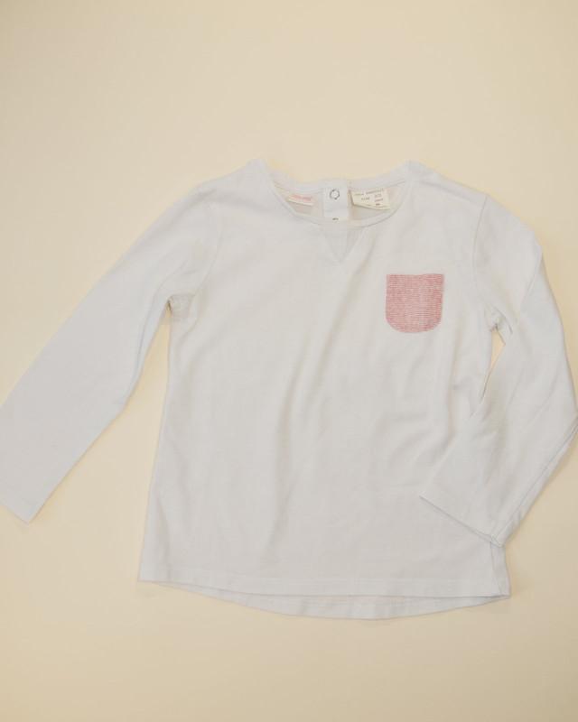 T-shirt poche marinière Zara