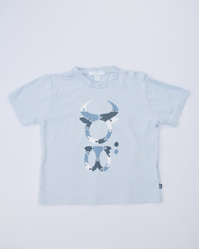 T-shirt bleu Obaïbi