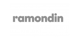 Logo du groupe Ramondin, client de Oplit.