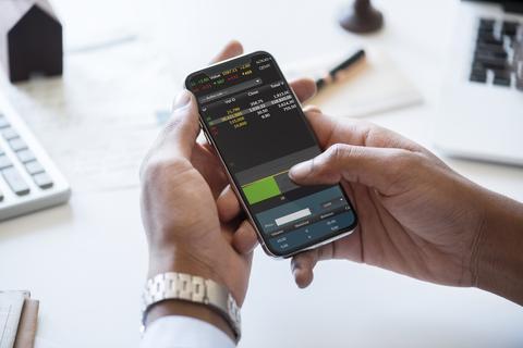 Metatrader 4 Forex Negociar Mobile