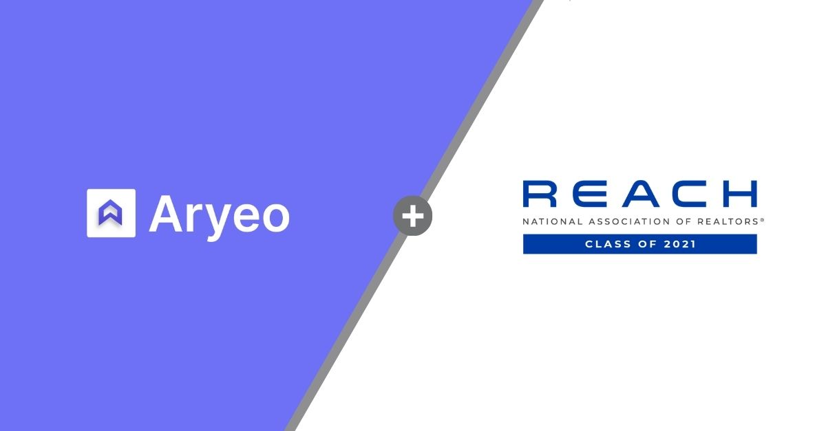 Proptech Standout Aryeo Selected as Member of 2021 National Association of Realtors® REACH Scale-up Program
