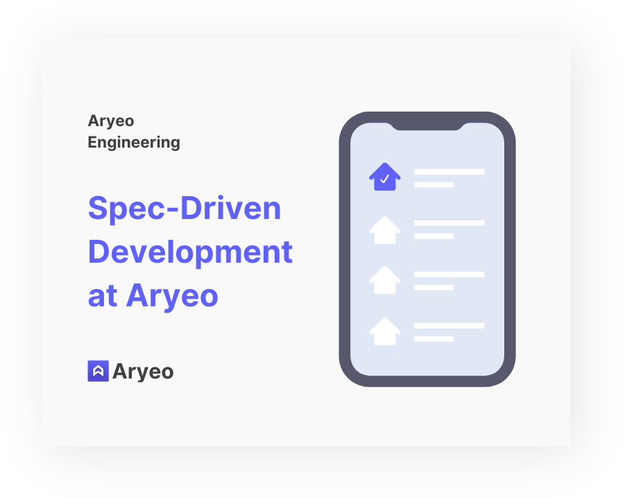Spec-Driven Development at Aryeo