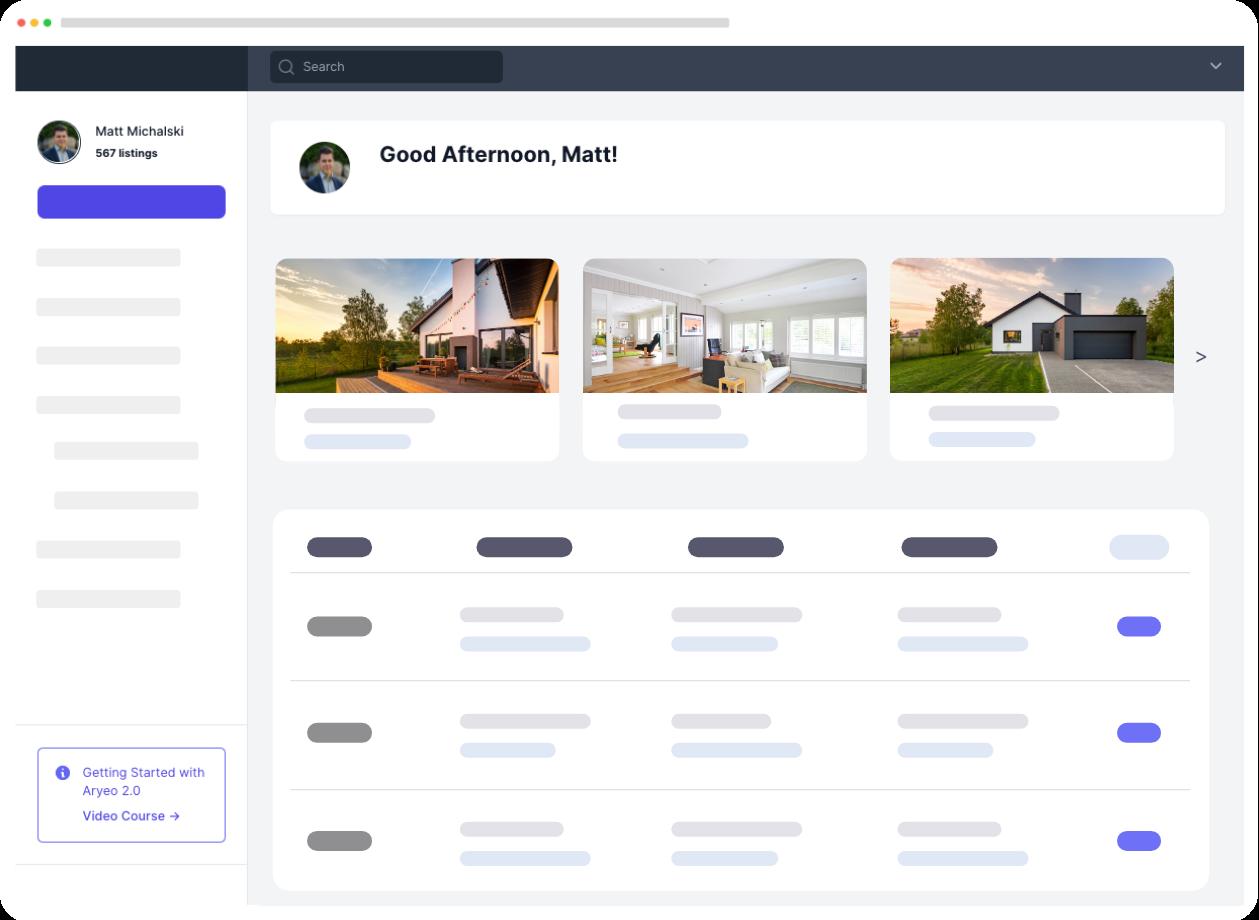 Real Estate Photographer Software Platform
