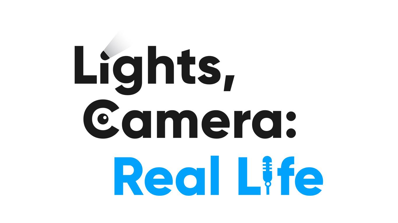 Lights, Camera: Real Life main logo